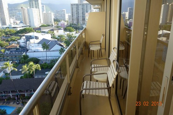 Balcony Picture Of Embassy Suites By Hilton Waikiki