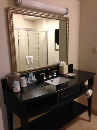 Hampton Inn & Suites Montgomery-Downtown: bathroom