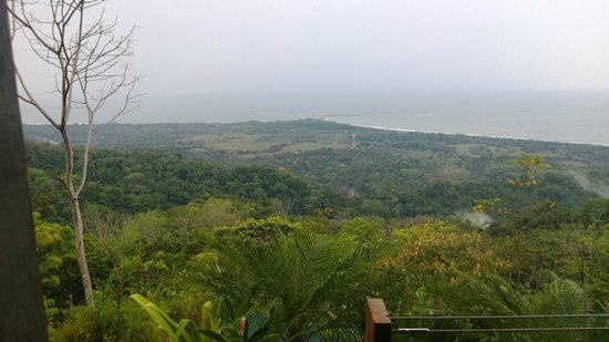 Kura Design Villas Uvita:                                                       View from the room