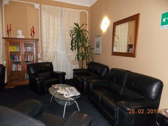 Hotel Urbani:                   The lounge