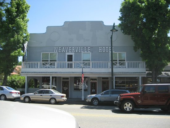 Weaverville Hotel & Emporium:                   Hotel Front
