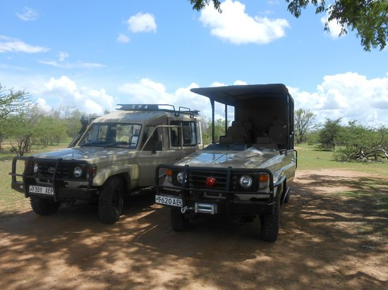 Azura Selous Game Reserve:                   Vehicles
