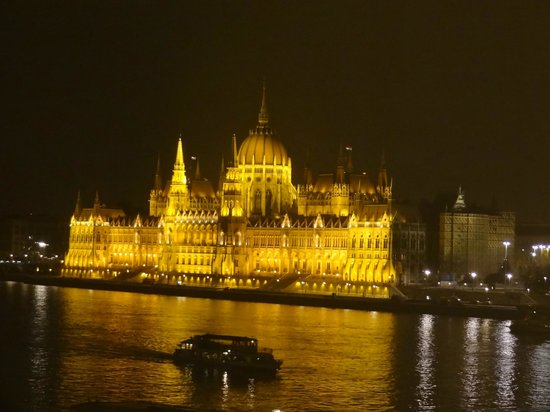 art'otel budapest:                   View of Parliment