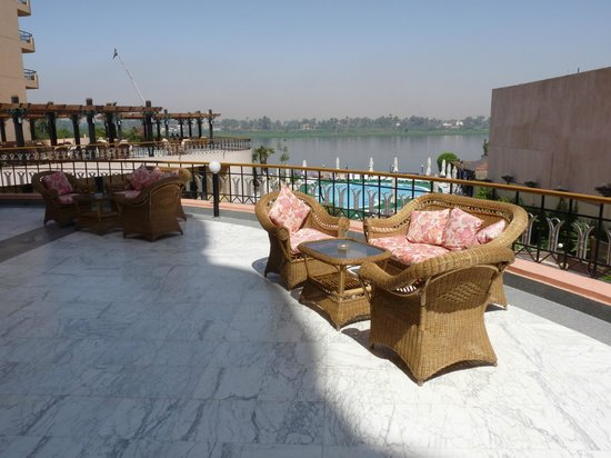 Lotus Luxor Hotel:                                     Terrace