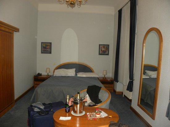 Hotel Pod Vezi:                   Letto comodissimo.