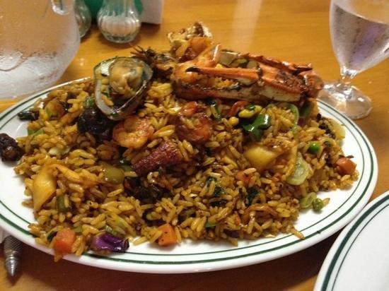 Sedimar:                                     Mariscos con arroz