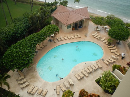 Royal Kahana: Pool/beach view