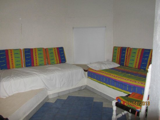 Gran Festivall All Inclusive Resort:                   living room, most comfortable beds in unit