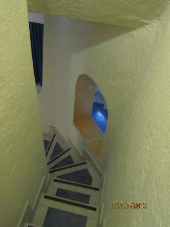 Gran Festivall All Inclusive Resort:                   narrow stairs going down, not great for little ones, or people with mobility i