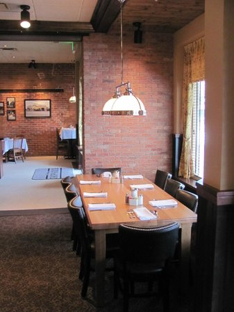 Greeley Chophouse: The Grand Table offers views of Downtown Greeley and a great setting for a larger party.