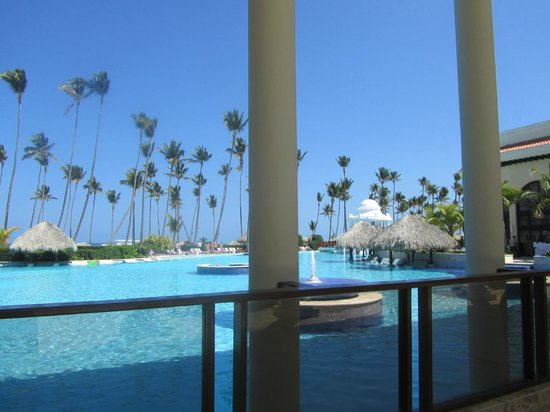 The Reserve at Paradisus Palma Real:                   Pool and Beach beyond