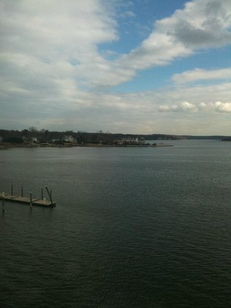 Oyster Point Hotel:                   nice view