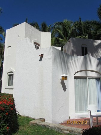 Gran Festivall All Inclusive Resort:                   outside of 2 bedroom villa, right behind pool