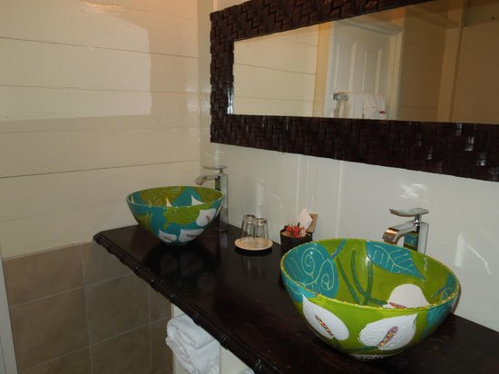 Fond Doux Plantation & Resort :                   bathroom