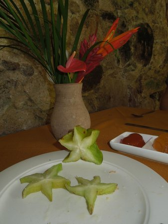 Fond Doux Plantation & Resort:                   fresh breakfast