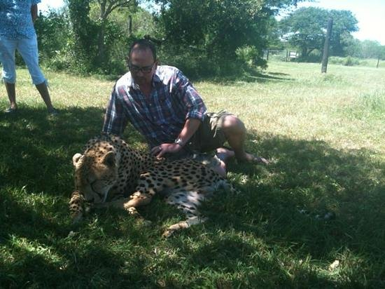 Makhasa Game Reserve and Lodge:                   not at the lodge! but a close by big cat sanctuary