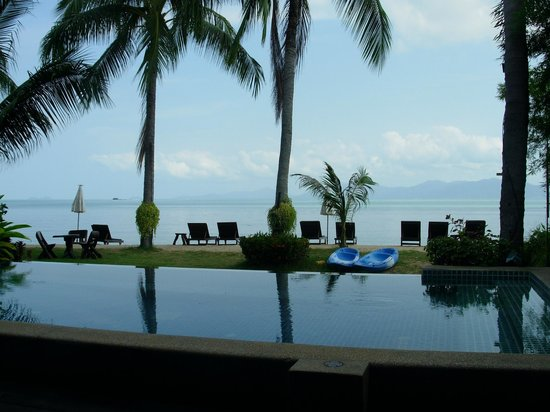 Baan Bophut Beach Hotel :                   Pool