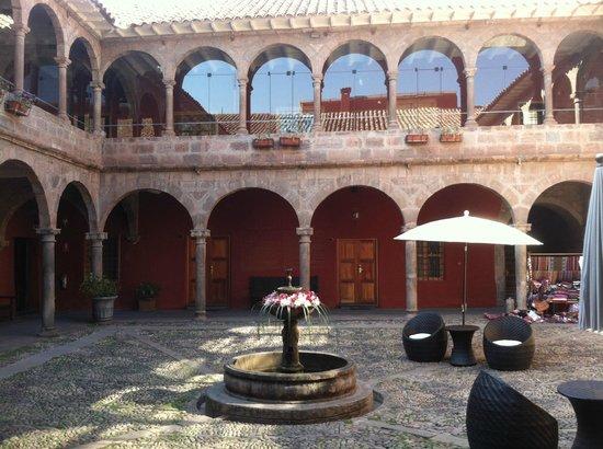 Hotel Costa Del Sol Ramada Cusco:                   courtyard view