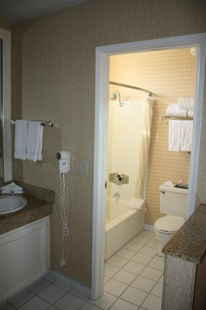BEST WESTERN PLUS Anaheim Inn:                   Bathroom area
