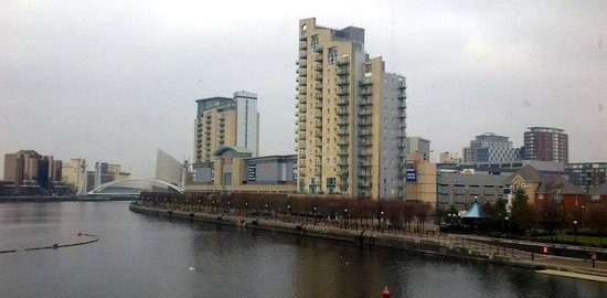 Holiday Inn Express Manchester - Salford Quays:                   Good Location
