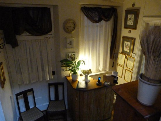 Stags Head Inn:                   Reception