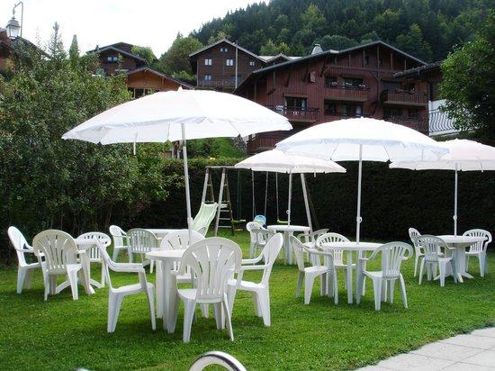 Hotel le Soly: Terrasse été
