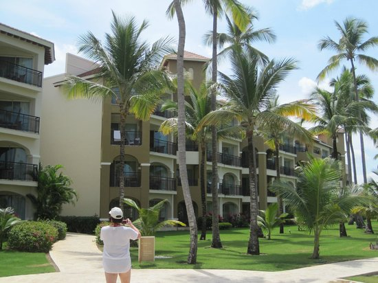 Now Larimar Punta Cana:                   View of hotel rooms