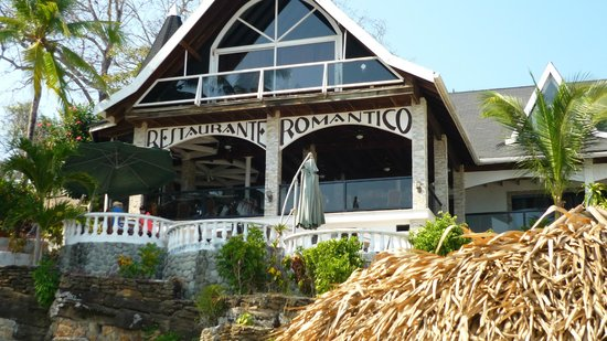 Villa Romantica:                   View from the beach
