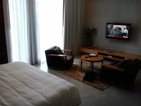 Hotel So Sofitel Hua Hin:                   TV Area