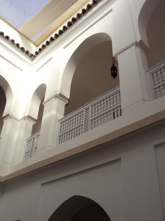 Riad Chi-Chi :                   the upper loggia