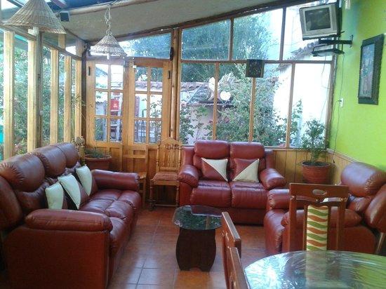 Casa Sihuar: Sala y comedor