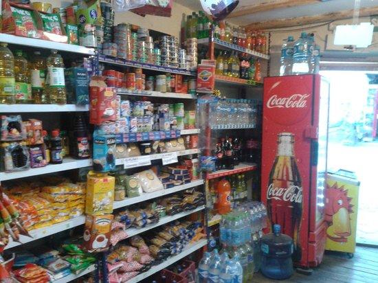 Casa Sihuar: Contamos con un pequeño minimarket
