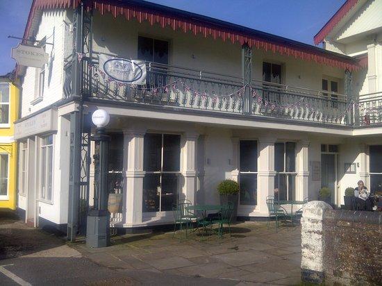 Stokes of Stockbridge: The old garage exterior