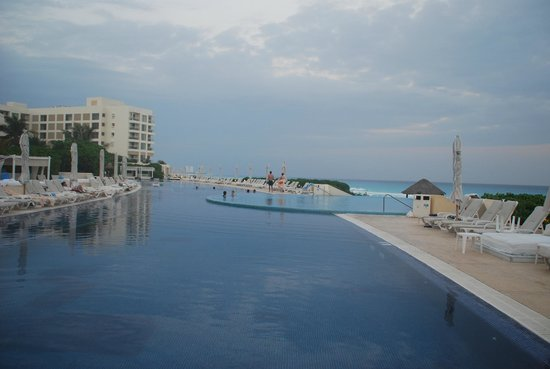 Live Aqua Beach Resort Cancun:                                     One of pools