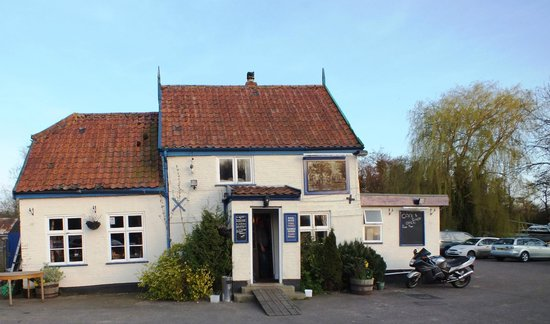 The Ferry House:                   Former Ferry House now a friendly pub!