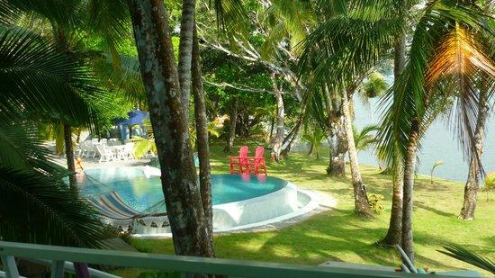 El Otro Lado:                   View from Sun House