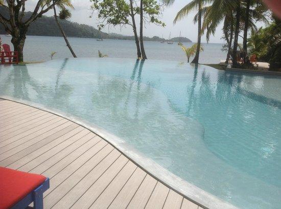El Otro Lado:                   View from pool