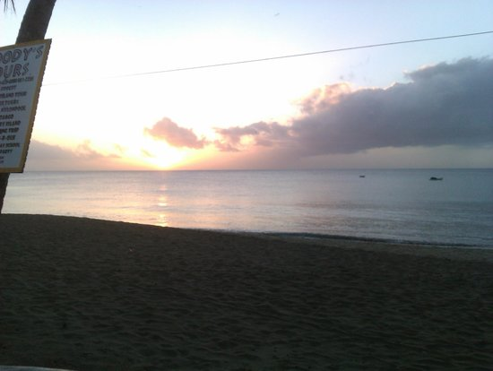 Turtle Beach by Rex Resorts:                   Sunset on a Saturday evening!