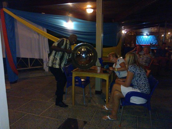Turtle Beach by Rex Resorts:                   Friday night's entertainment... had the foreigners excited!