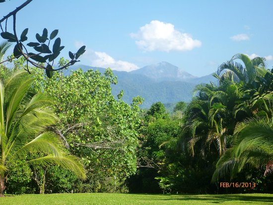 Blue Banyan Inn:                   View of Costa Rican Mountains