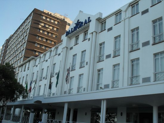 Balmoral Hotel:                                     Front of hotel