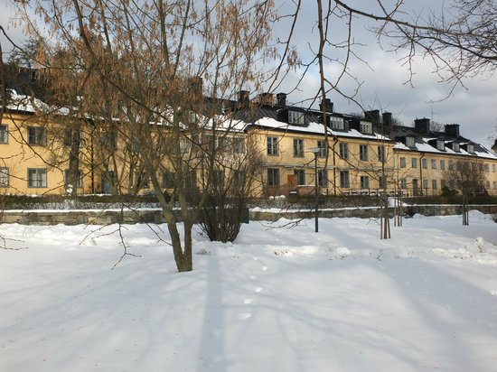 Hotel Skeppsholmen in the snow - Feb 2013