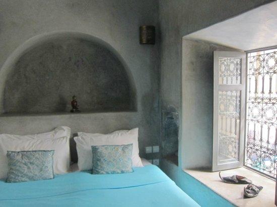 Riad Papillon :                                     ground floor room
