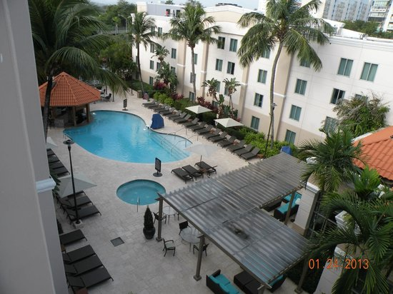 Hampton Inn & Suites San Juan :                   View from our room