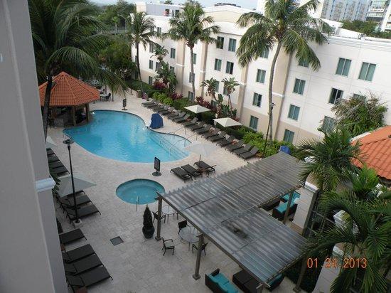 Hampton Inn & Suites San Juan:                   View from our room