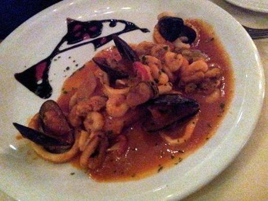 Casanova Restaurant and Wine Bar:                   Swordfish main