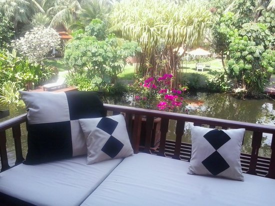 Anantara Hua Hin Resort :                   Balcony facing the lagoon