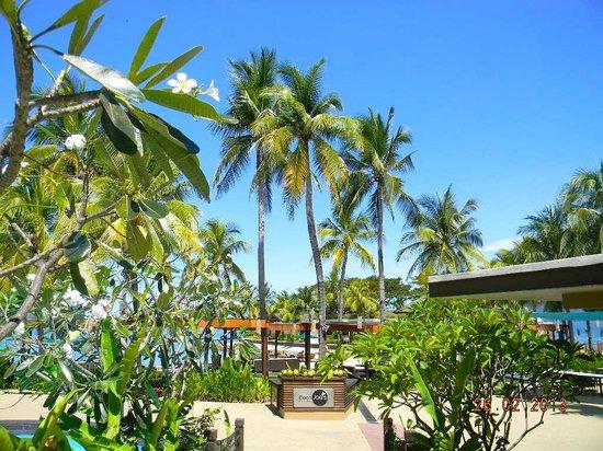 Shangri-La's Tanjung Aru Resort & Spa: giardini