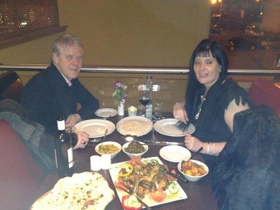 Bombay Brasserie: Mandy & Colin