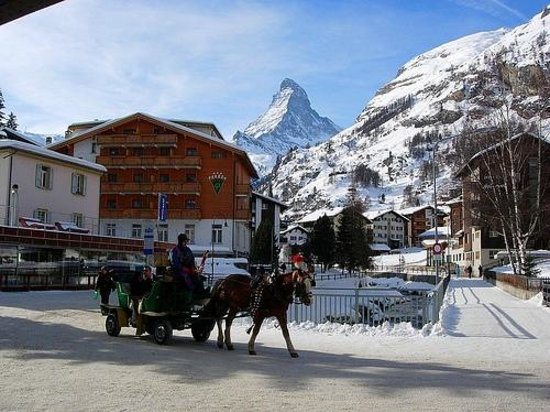 La Boheme Appartementhaus: From the Village of Zermatt